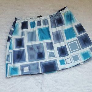 Nike stretchy skort tennis skirt